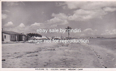 Cyprus Postcard Famagusta Golden Sands Camp Looking From South Soteriou 1948