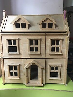 Plan Toys Doll's House, with wooden furniture