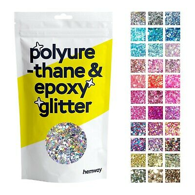 Hemway Glitter Floor Crystals Pigment for Epoxy Resin paint flooring garage DIY