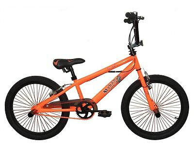"Bicicleta Bmx 20"" rueda 360 Gyro ORANGE"