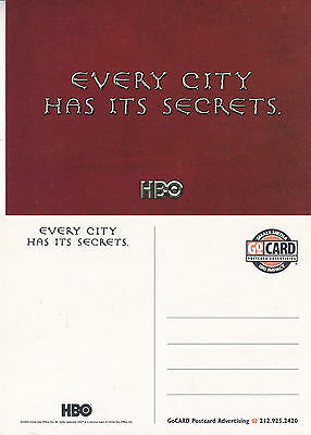 Tv Series Rome: Every City Has Its Secrets Hbo Advertising Colour  Postcard