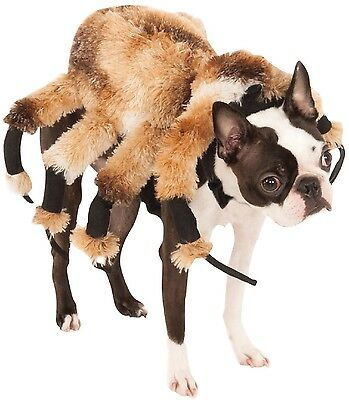 Pet Dog Cat Spider Scary Halloween Clothes Fancy Dress Costume Outfit  XS-XL