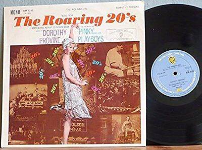 Music from The Roaring 20's television show. Starring DOROTHY PROVINE LP