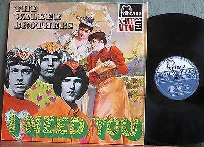 THE WALKER BROTHERS I Need You 1967 Holland pressing Vinyl LP.