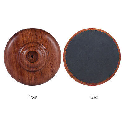 Wood Cello Endpin Rest Stop Holders Anchor Protector Anti-slip Round Pad 1x