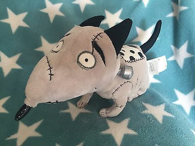 "New Disney Store Frankenweenie Plush Dog Sparky Soft Toy 11"" Long"