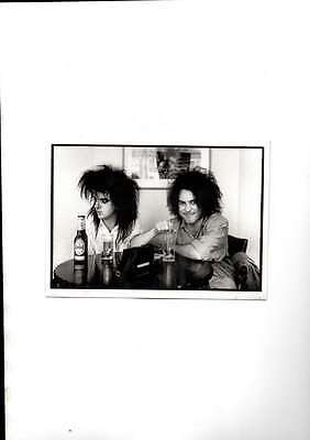 The Cure Simon Gallup & Robert Smith Londres 1985 Unused Modern Postcard Mint