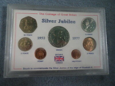Coinage Of Great Britain Silver Jubilee Coin Collection
