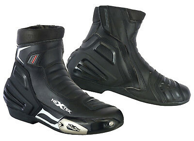Motorbike Short Ankle Boots Waterproof Motorcycle Racing Sports Touring Shoes