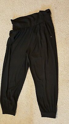 Harem black trousers, size s 10/12