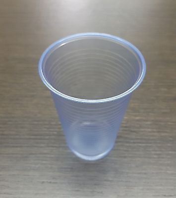 7oz BLUE PLASTIC CUPS WATER VENDING DISPOSABLE STRONG