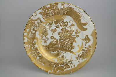 """Superb ROYAL CROWN DERBY 'GOLD AVES' 10.5"""" DINNER PLATE 1st Quality 9 Available"""