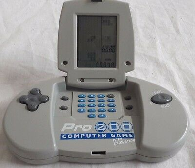 Vintage Pro 200 Computer Game with calculator great condition (like Tetris)