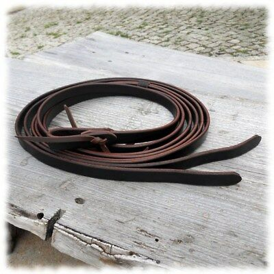 2,30 m Westernzügel Old World Harness Reins 1,9 cm