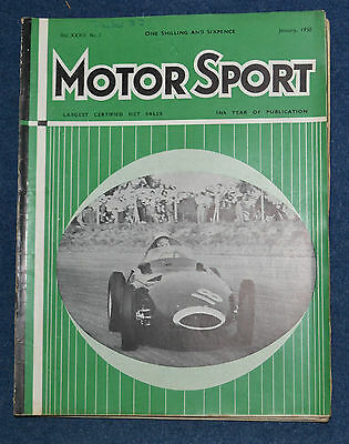 Motor Sport January 1958 Riley Two point Six, Wolseley 1500, MG Magnette