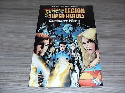 Supergirl & The Legion Of Super-Heroes: Dominator War. Graphic Novel Tpb Dc