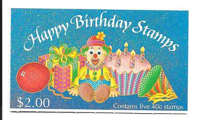 NEW ZEALAND $2 Happy Birthday stamps Booklet in Mint condition