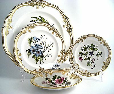 5 piece Spode Stafford Flowers Place Settings; 10 Sets available MADE IN ENGLAND