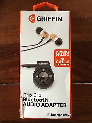 Griffin iTrip Clip Bluetooth Headphone Adapter With Controls
