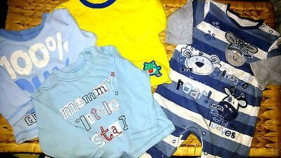 Pre-owned. Baby boys bundle 6-9 mths