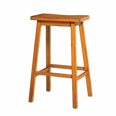 "ACME Furniture Gaucho 29"" Bar Stool in Antique Oak (Set of 2)"