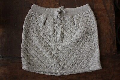 Country Road Grey Marle Quilted girls skirts size 10 New winter warmer Cotton