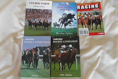 4 x Race Form & Guide Books - Flat/Jumps 1988-1989