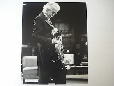 Jimmy Page genuine  hand-signed autograph photograph size 10x8 with c.o.a