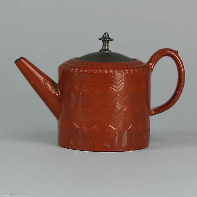 Antique ca 1700 European Staffordshire Yixing Style Teapot Red Clay Chinese