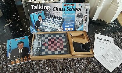Electronic Chess Millenium Talking Chess School,computer - Tells You The Moves!!