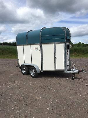 RICE CONTINENTAL DELUXE Horse Box Horse Trailer