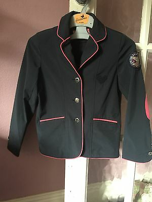 Beautiful Navy / Pink Child's Show Jacket