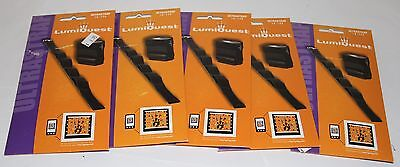 5x LumiQuest UltraStrap Accessory Mounting Straps NEW In Package