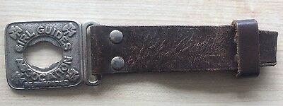 Vintage Girl Guide Buckle and Strap by Bukta 1960's?