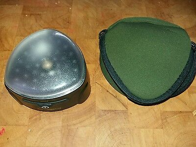 FOX HALO BIVVY LIGHT WITH CASE & SPARE BULB ( one of two )