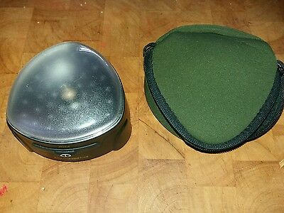 FOX HALO BIVVY LIGHT WITH CASE & SPARE BULB ( two of two )