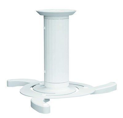 Newstar Universal Projector Ceiling Mount, Height Adjustable 8-15cm - White