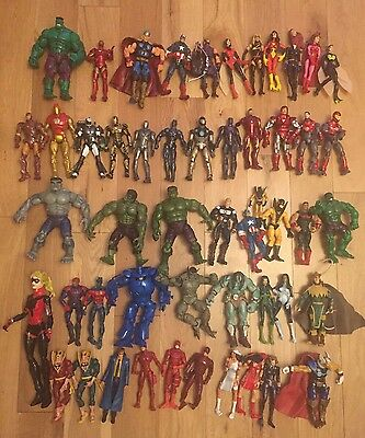 Marvel Legends Avengers Iron Man Hulk Job Lot