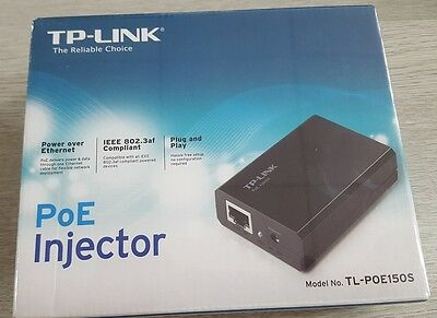 TP Link TL-POE150S PoE Injector Power Over Ethernet - New and  Sealed