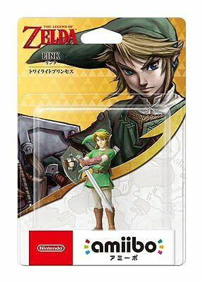 Nintendo Amiibo LINK The Legend of Zelda Twilight Princess Figure Switch NEW3DS