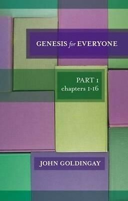 Genesis for Everyone by John Goldingay Paperback Book