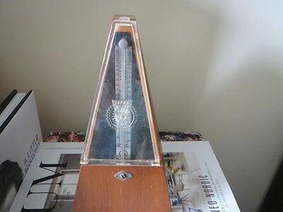 Vintage Classic Pyramid Wooden Metronome