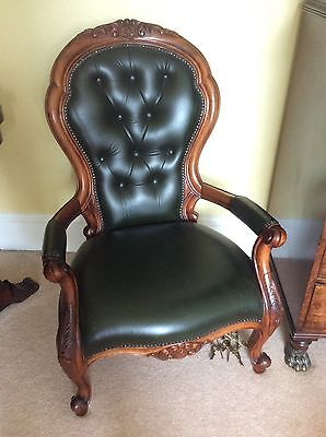 Reproduction Victorian Grandmother Chair
