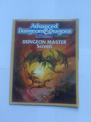 Advanced Dungeons and Dragons 2nd edition Dungeon Masters Screen
