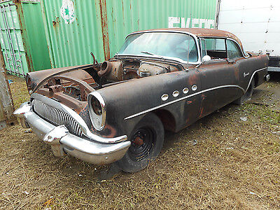 1954 Buick Roadmaster  1954 Buick Roadmaster 2 dr HT with `54 Roadmaster 4 dr Parts Car