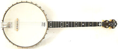1925 Vega Tu-Ba-Phone Style M 4-String Tenor Banjo with Original Case
