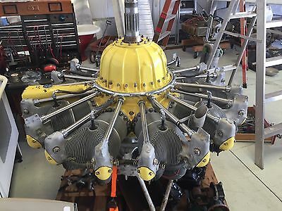 Pratt & Whitney R-1340 R-1340-S3H1-G Geared Radial Wasp Engine - NO RESERVE