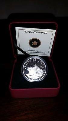 1910 - 2010 Navy Canada Proof Silver Dollar Coin - Canadian Silver Bullion Round