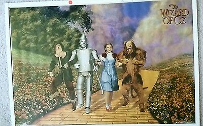 New. Wizard Of Oz 24 X 36 Movie Poster. Free Shipping.
