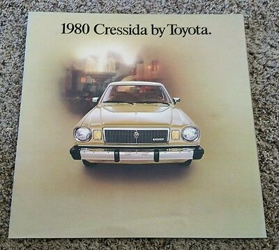 "1980 Toyota Cressida 14-Page 11"" X 11"" Colored Sales Brochure"